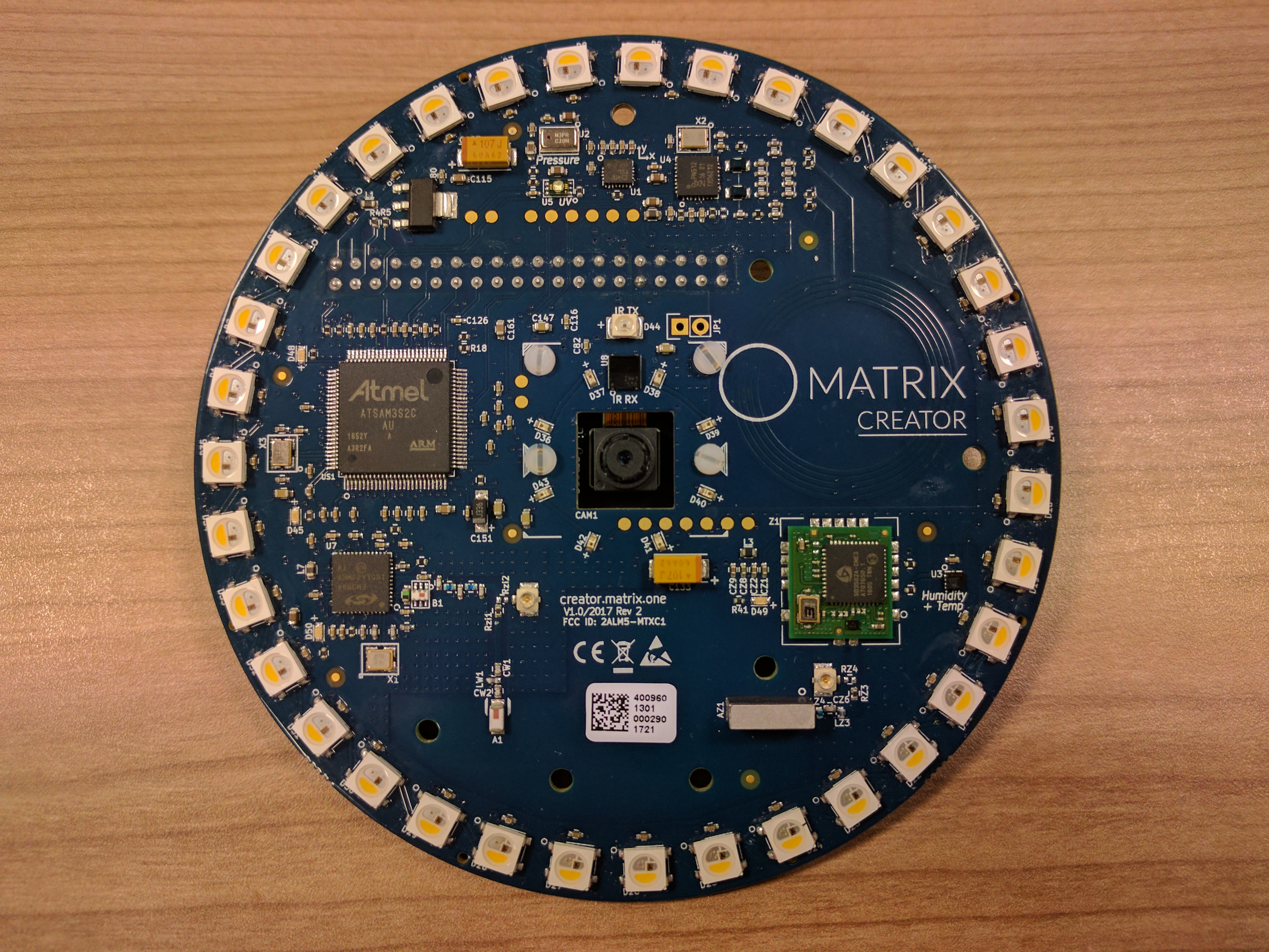 Matrix Creator Maker Space Wiringpi Install Banana Pi Raspberry And Is Loaded With Masses Of Sensors Other Gizmos This Makes It A Great Choice For Variety Different Iot Applications Such As